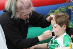 Face painting time at Aonach Jack in Meenaleck.
