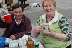 Ann Gallagher and Kathleen Gallagher at Aonach Jack in Meenaleck.
