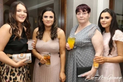 Mikayla Scott, Rachel Mc Fadden,Kay Scott and Kate Mc Fadden in the Waterfront Hotel, Dungloe for the charity cancer dinner dance.