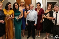 Guests at the charity cancer dinner in Dungloe.