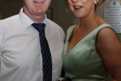 Anthony and Rosemary Gallagher at the charity dinner dance in Dungloe.