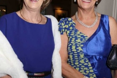 Liz Boyle and Margaret Gallagher at the charity dinner in Dungloe at the weekend.