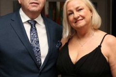 Pat and Frances Boyle arriving for the cancer charity dinner dance in the Waterfront Hotel. (Pictures by Eoin Mc Garvey)