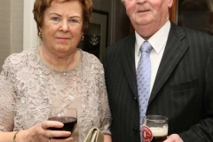 Carol and David Alcorn at the charity dinner dance in Dungloe.