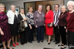 Members of the North West ladies group at the charity cancer dinner in Dungloe at the weekend.