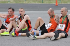 Taking a well earned rest after the Donegal Airport 5k on Saturday.