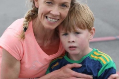 Sarah Mulholland and Evan Ward after completing the Donegal Airport 5k.