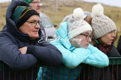Watching the Donegal versus Tyrone U16 game in Magheragallon on a wintry Saturday.