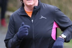 Cathy Breslin at the 200th Parkrun in Dungloe.