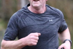 Paddy Sharkey in action at the 200th Dungloe Parkrun.