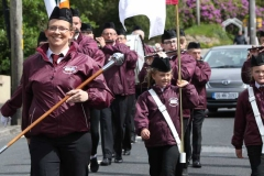 The Craickamore band in Annagry for the annual Feile Anagaire. (Photos by Eoin Mc Garvey)