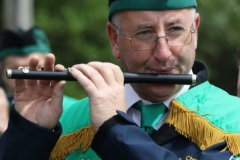 Eamon Rodgers on flute duties at the annual Feile Anagaire. (Photos by Eoin Mc Garvey)