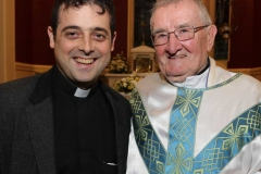 Fr Damien Nejad with Fr Herrity at his celebration function.