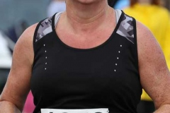Cathy Breslin at the Maghery 5k.