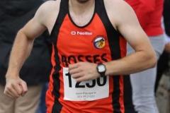 Mark Ward, runner up at the Maghery festival 5k.