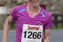 Emer Magee, first lady at the Maghery festival 5k. (Photos by Eoin Mc Garvey)