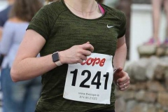 Mairead Doherty completing the Maghery 5k.