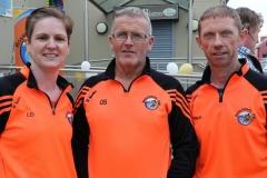 Lorraine Doherty, Owenie Sharkey and Paul Mc Kelvey at the Mary from Dungloe 5k. (Photos by Eoin Mc Garvey)