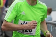 Colm Mc Taggart finishing the MFD 5k.