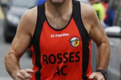 Liam Bonner at the Mary from Dungloe 5k.