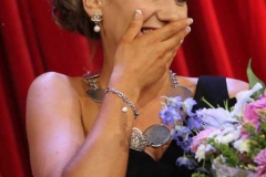 A shocked and surprised Roisin Maher after she was crowned 2019 Mary from Dungloe. (Pictures by Eoin Mc Garvey)