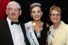 2019 Mary from Dungloe Roisin Maher with proud parents John and Marie.