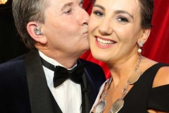A little kiss from Daniel for Roisin Maher, 2019 Mary from Dungloe winner. (Pictures by Eoin Mc Garvey)