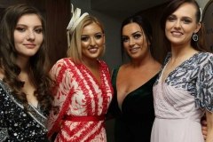 Modelling for Pure Boutique, Letterkenny at the Mary from Dungloe fashion show were Kaitlin Boyle, Erin Clerkin, Laura Coll and Caroline O'Donnell. (Photos by Eoin Mc Garvey)