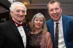 John Bonar, Rita Bonar and Ciaran Richardson, Randox at the Mary from Dungloe Gala Ball.