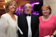 Margaret Boyle, Kevin Bonner and Bernadette Brennan at the Mary from Dungloe Gala Ball.