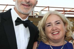 Jonathan Grimes and Catriona Mc Elhinney-Grimes at the Mary from Dungloe Gala Ball.