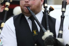 A piper with the Limavady band at the Mary from Dungloe carnival parade. (Photos by Eoin Mc Garvey)