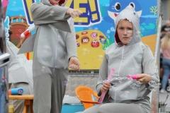 Baby Shark at the Mary from Dungloe carnival parade.