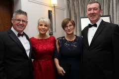 Diarmuid Doherty, Colette Doherty, Sara Smith and Padraig Smith at the RNLI dinner in Dungloe.