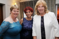 Margaret Bonner, Kate Mc Govern and Margaret Bradley at the RNLI and Dungloe Hospital fundraiser in Dungloe. (Photos by Eoin Mc Garvey)