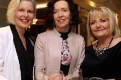 Sharon Gallagher, Rosaline Mc Elhatton and Margaret O'Donnell at the RNLI gala event.