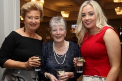 Rosie Street, Annie Parks and Niamh Keeney at the RNLI and Dungloe Hospital fundraising event.