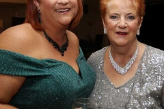 Amy Lovell and her mum Betty Ann at the RNLI dinner in the Waterfront Hotel at the weekend.