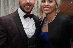 David Flynn and Kelly Wilson at the RNLI gala dinner in Dungloe.