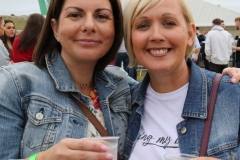 Grainne Mc Neilis and Caitriona Campbell at the Sult music festival in Gweedore at the weekend. (Photos by Eoin Mc Garvey)
