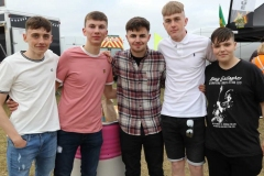 Johnny O'Donnell, Dylan O'Donnell, Danny O'Donnell, Colin Gillespie amd Steohen Whoriskey at Sult 2019.